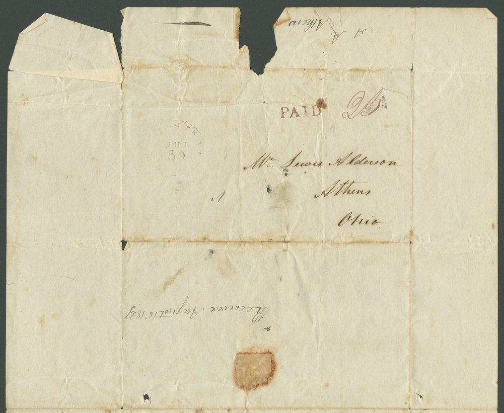 J. W. McClung to Lewis Allen Alderson - 3