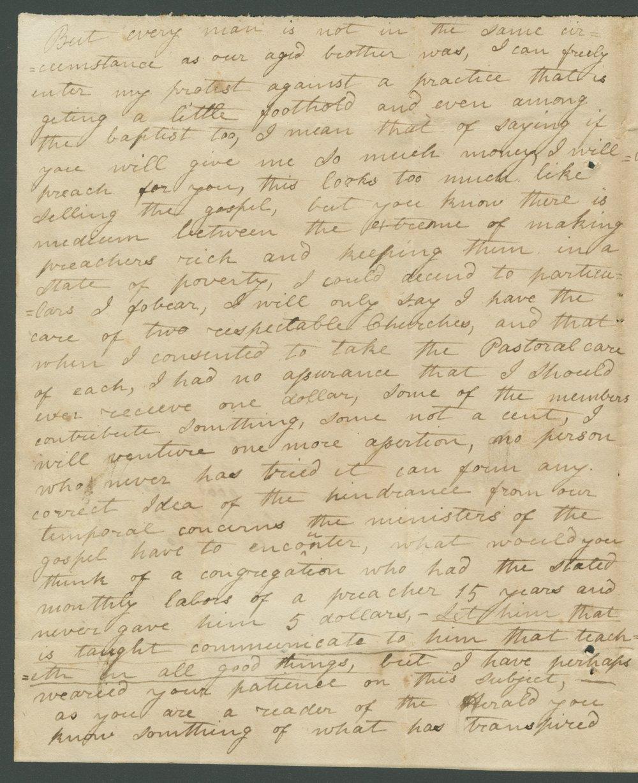 Robert Lilly to Lewis Allen Alderson - 2