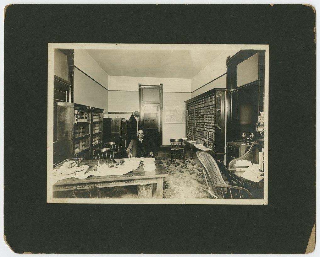 George W. Allison's law office in McPherson, Kansas