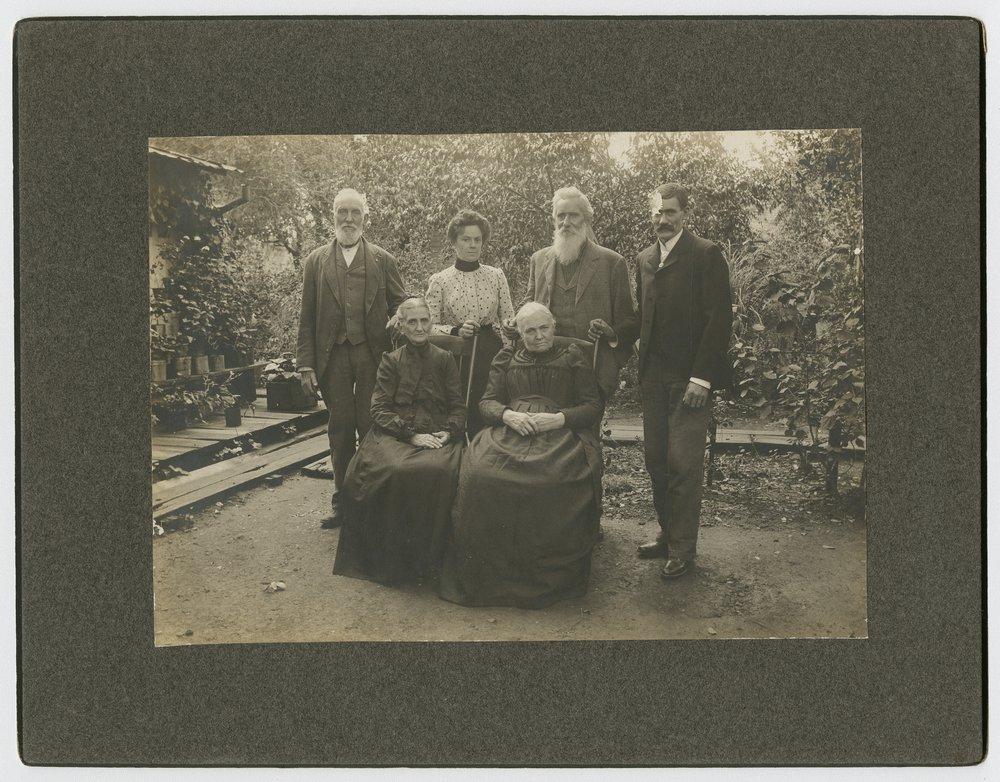 Allison family in McPherson, Kansas