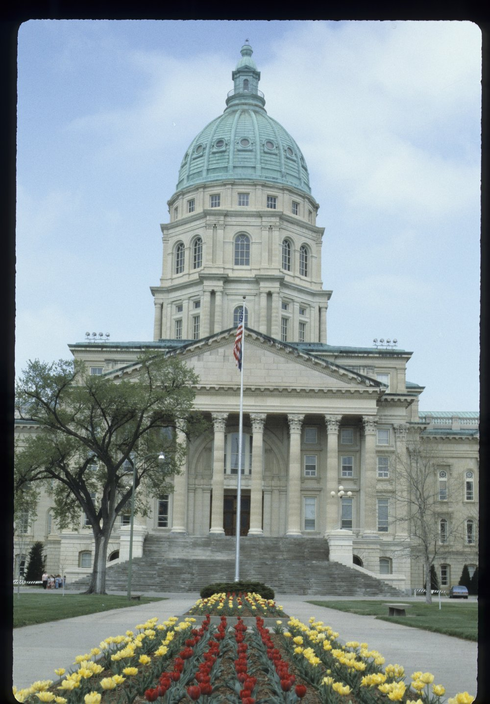 Kansas capitol and grounds in Topeka, Kansas