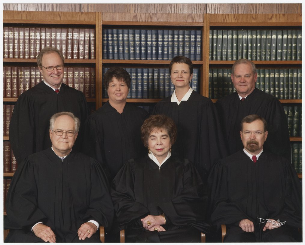 Kansas Supreme Court justices in 2007