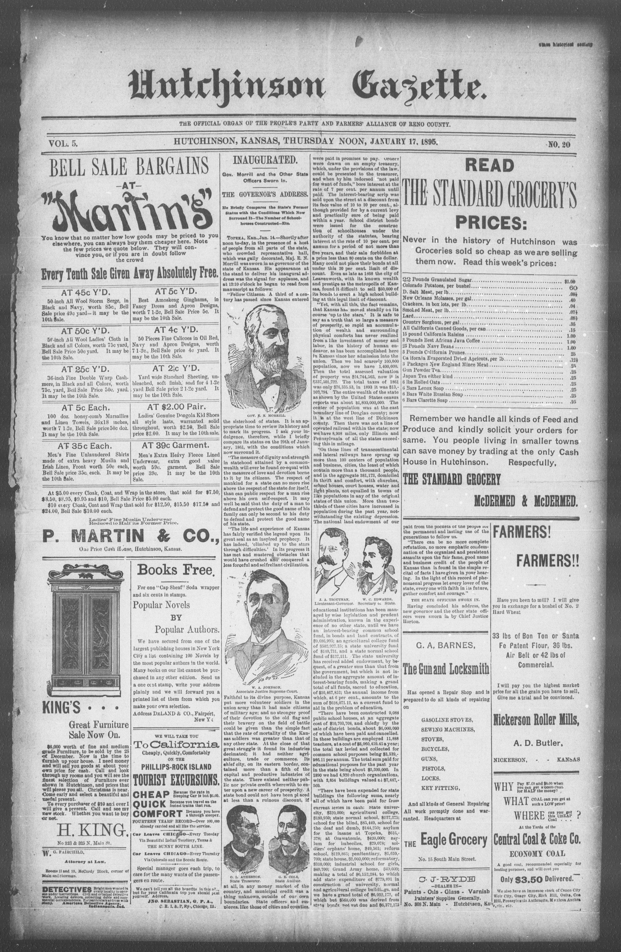 Hutchinson Gazette