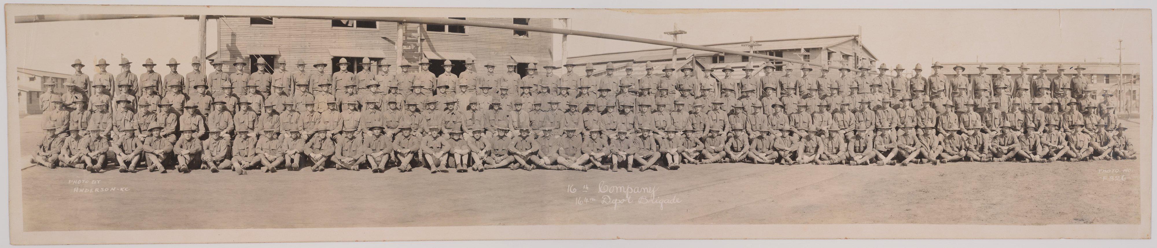 16th Company, 164th Depot Brigade