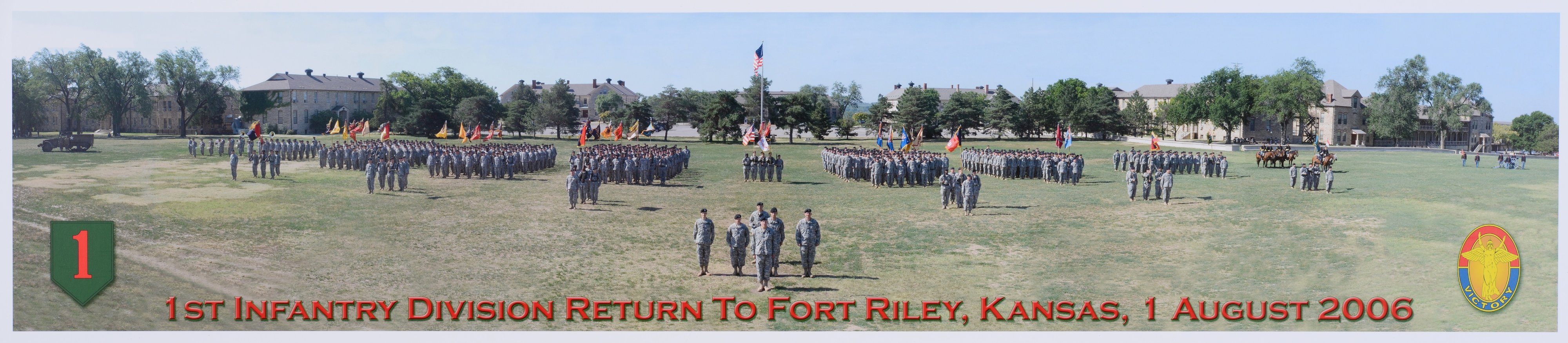 1st Infantry Division return to Fort Riley, Kansas