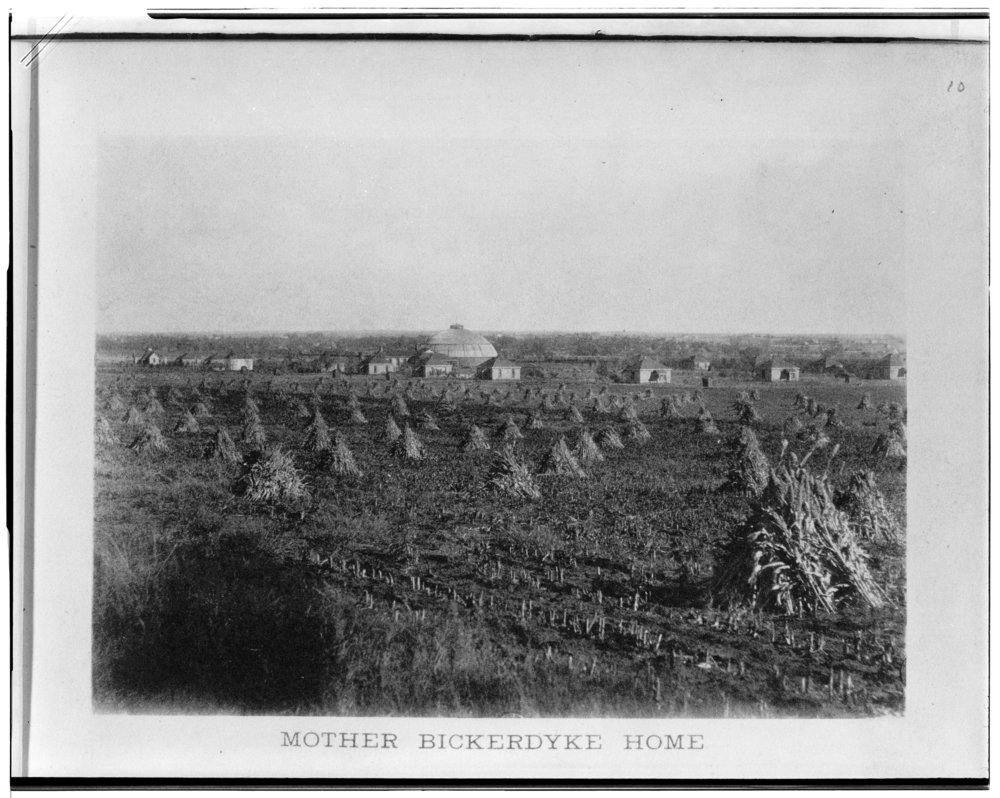 Mother Bickerdyke Home in Ellsworth, Kansas