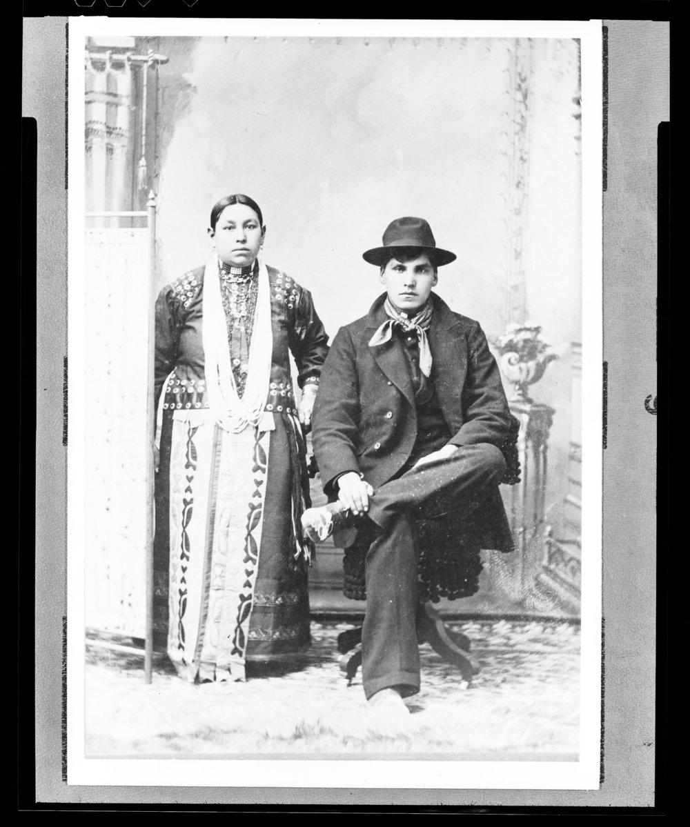 Arthur Spitto and Ella Masquat
