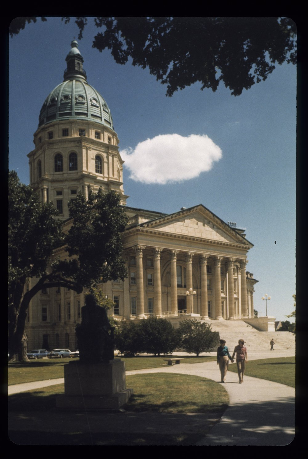 South wing of the Kansas capitol in Topeka, Kansas