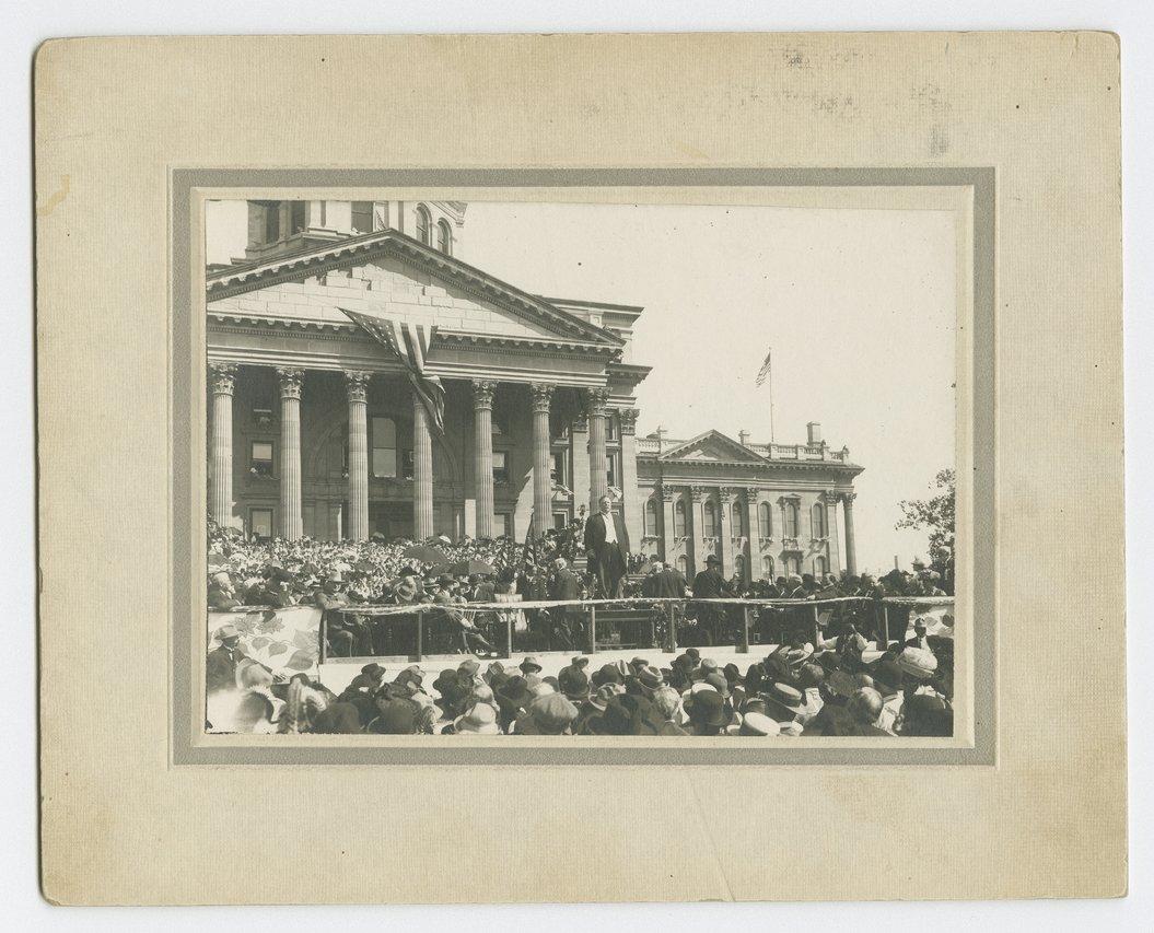 President William Howard Taft, Topeka, Kansas - 1