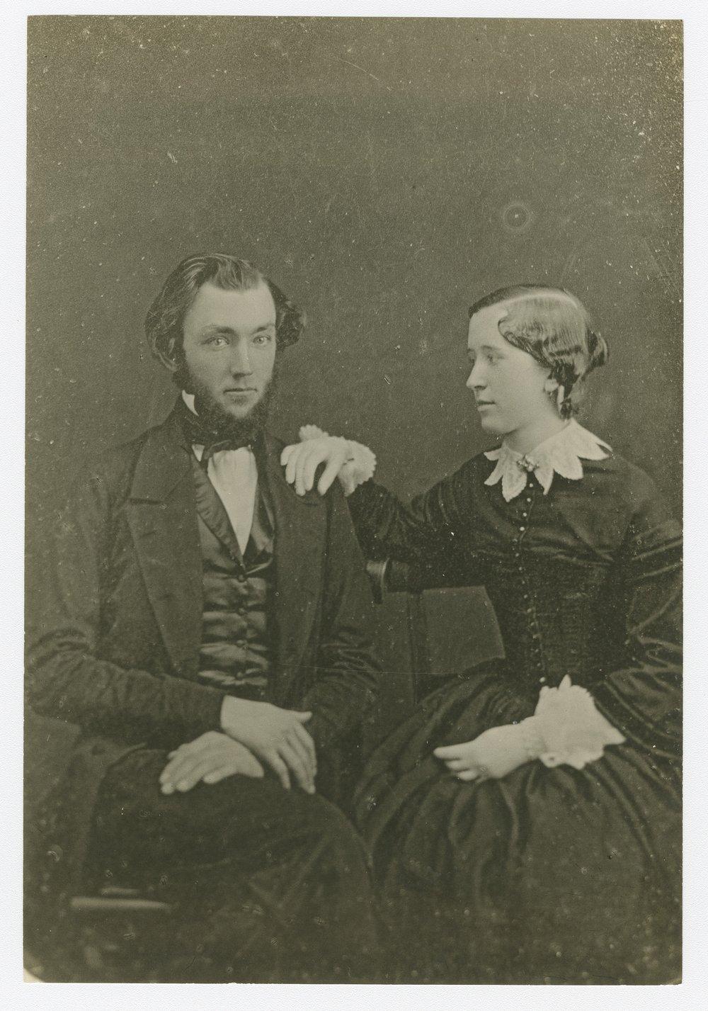 Josiah and Agnes B. Carlisle Miller