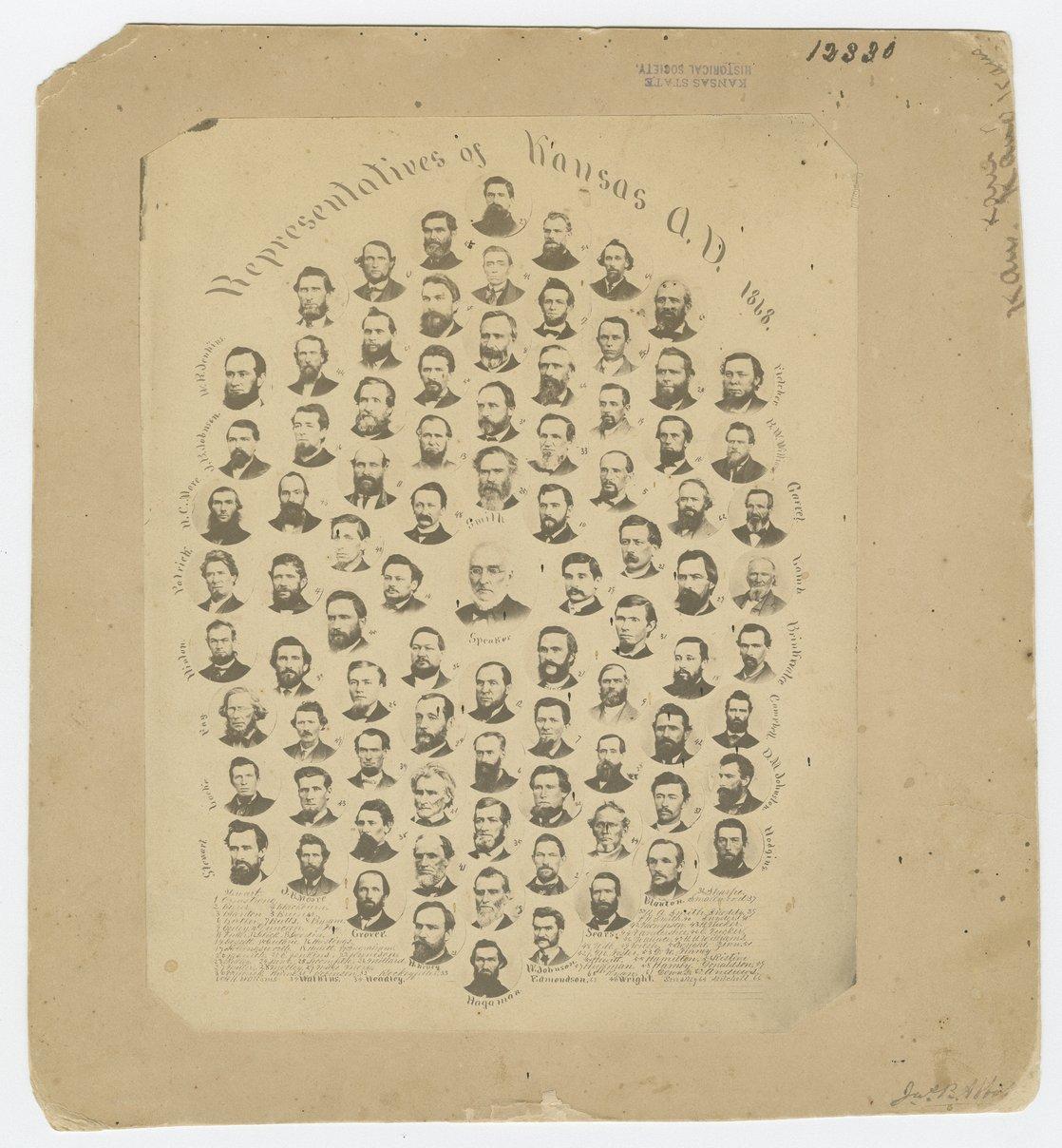 Kansas Legislature, 1868 - 1