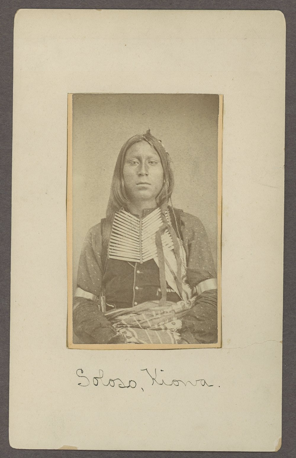 Soloso, son of Satanta, in Indian Territory - 1