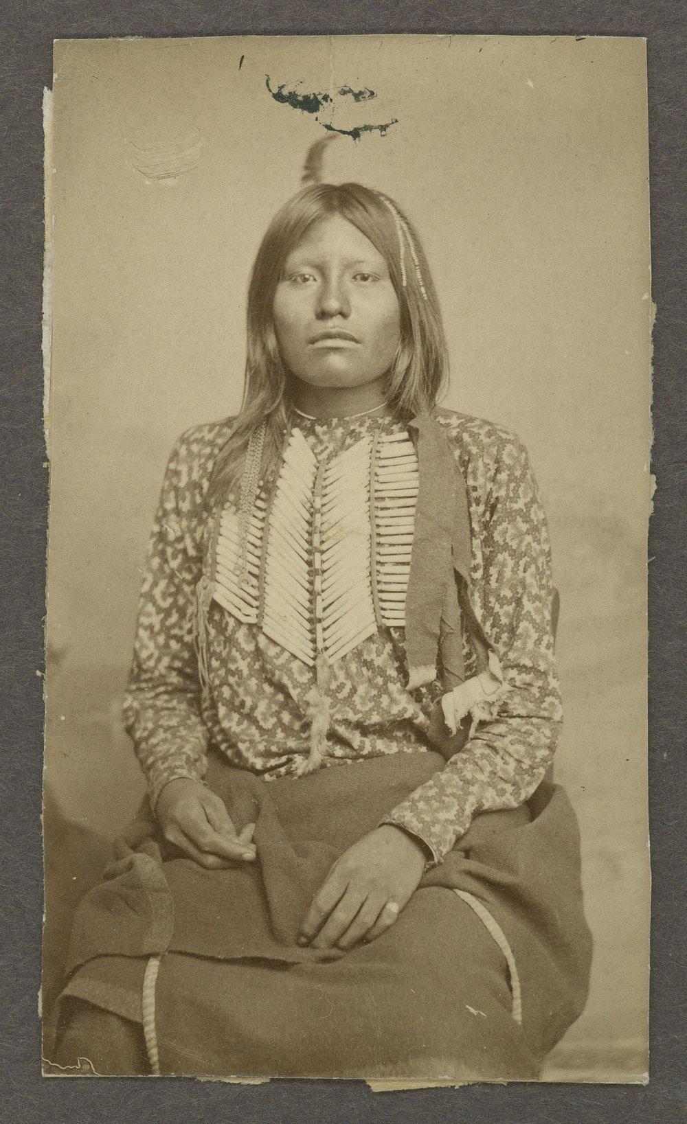 Ots-Kits, Kichai tribe, in Indian Territory - 1
