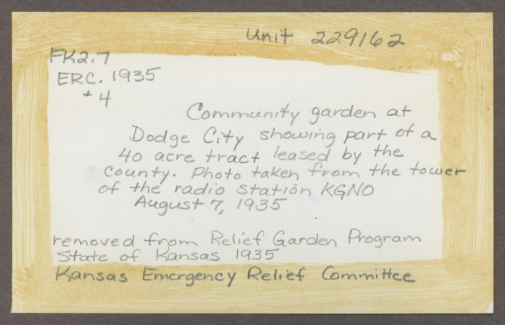 Community gardens in Dodge City, Kansas - 2