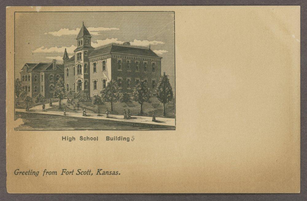Fort Scott high school in Fort Scott, Kansas - 1
