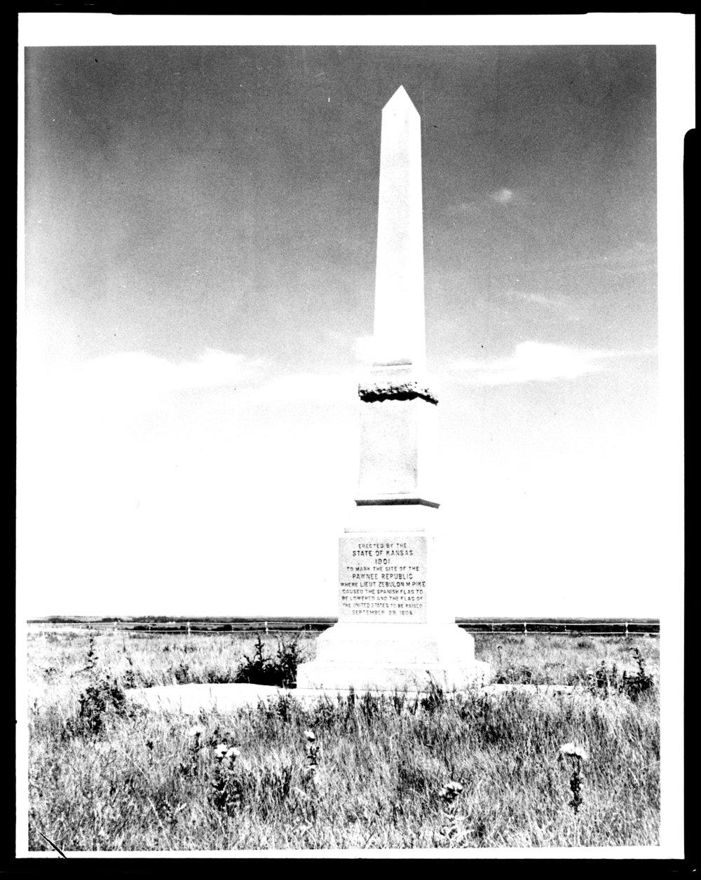 Kansas republic county agenda - Views Of The Pawnee Village Monument Republic County Kansas