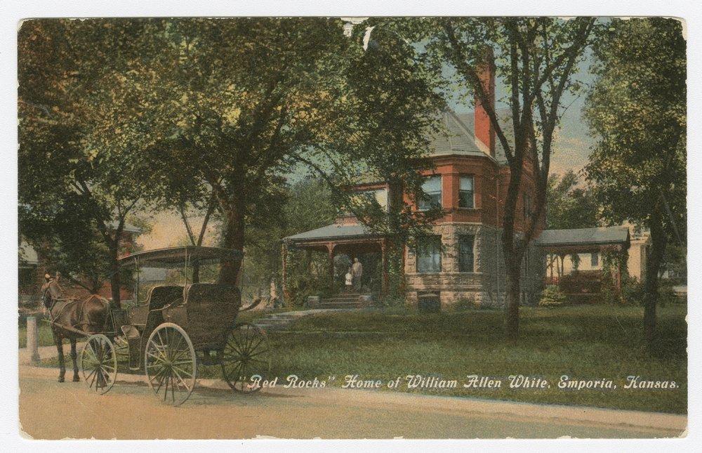 "Views of ""Red Rocks,"" home of William Allen White, Emporia, Kansas - 2"