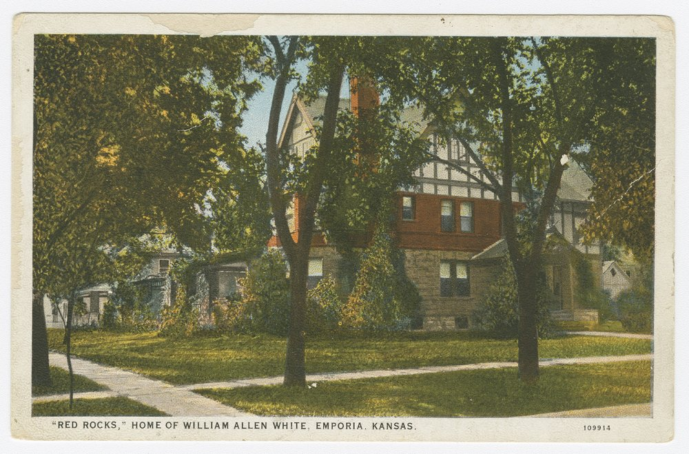 "Views of ""Red Rocks,"" home of William Allen White, Emporia, Kansas - 4"
