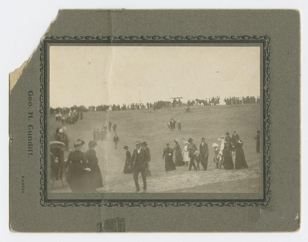 Celebration at Pawnee Indian site, Repbulic County, Kansas - 1