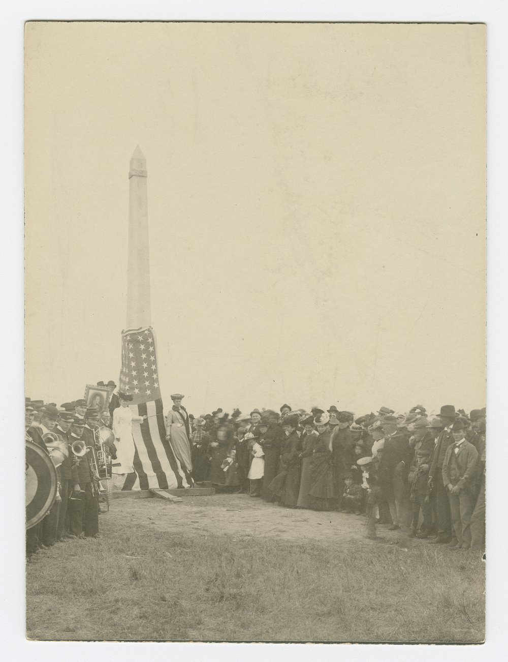 Unveiling the Pike monument at Pawnee Village, Republic County, Kansas - 3