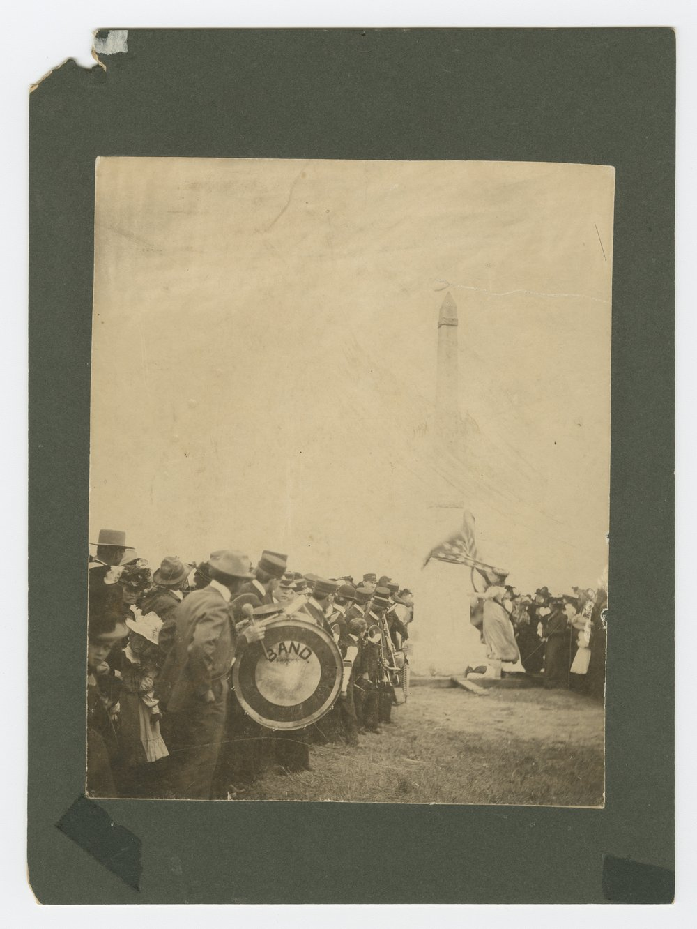 Unveiling the Pike monument at Pawnee Village, Republic County, Kansas - 5