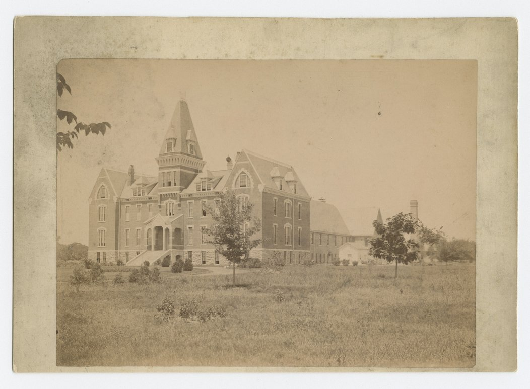 Main building and chapel at the Industrial School for Boys, Topeka, Kansas - 1