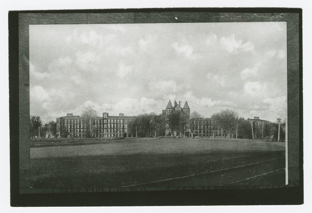 Front views of the Osawatomie State Hospital, Osawatomie, Kansas - *3