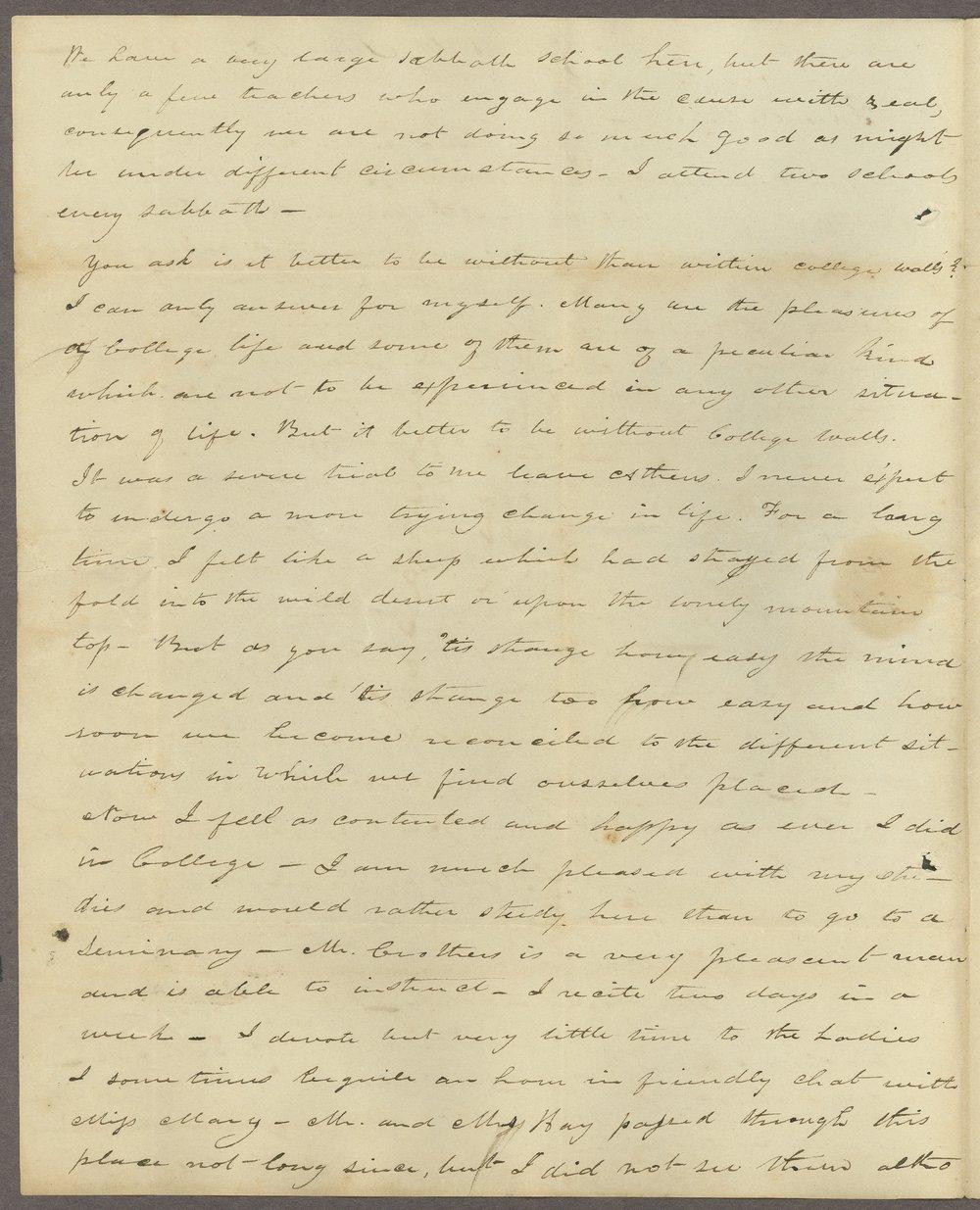 I. T. Irwin to Lewis Allen Alderson - 2