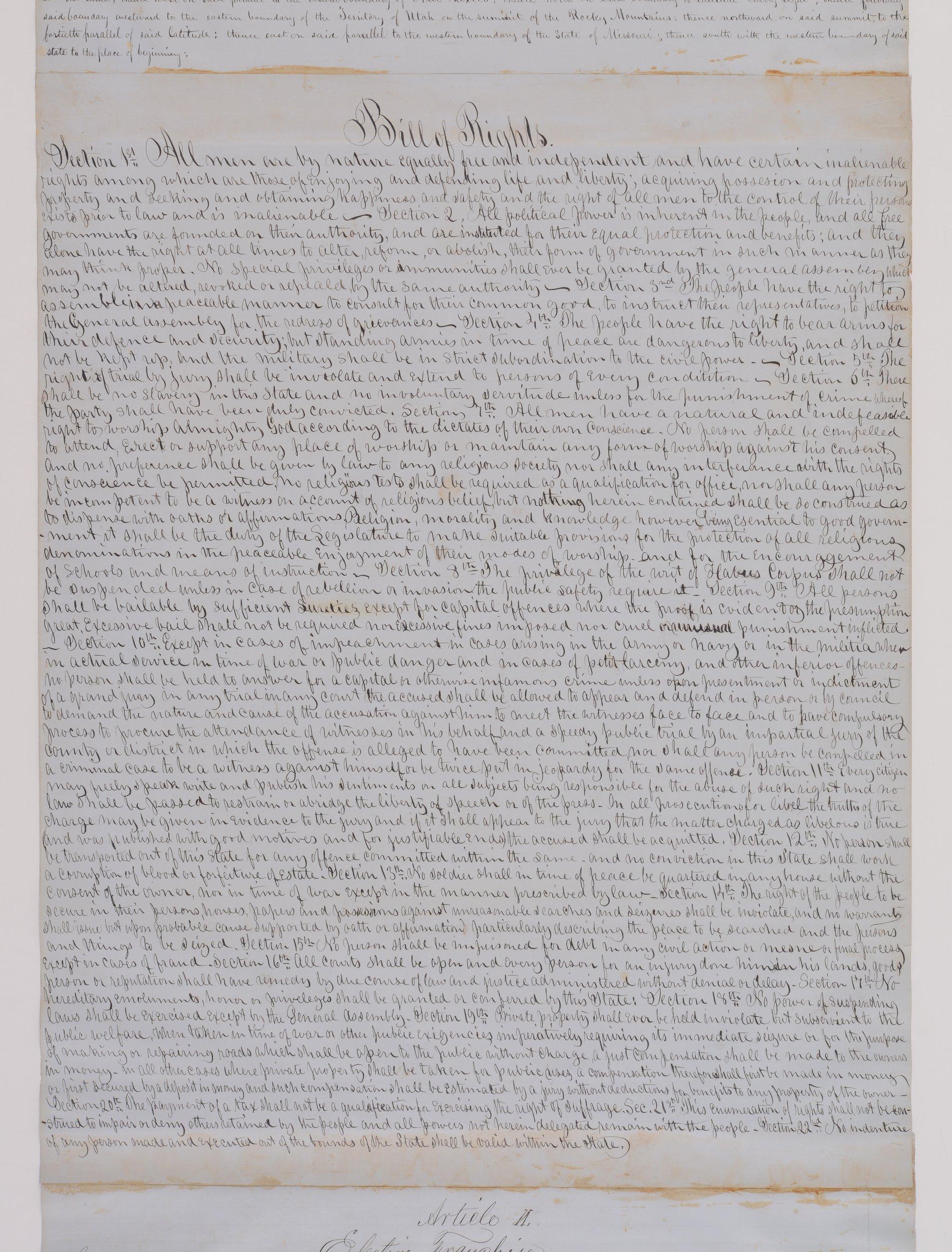 Leavenworth Constitution - 2