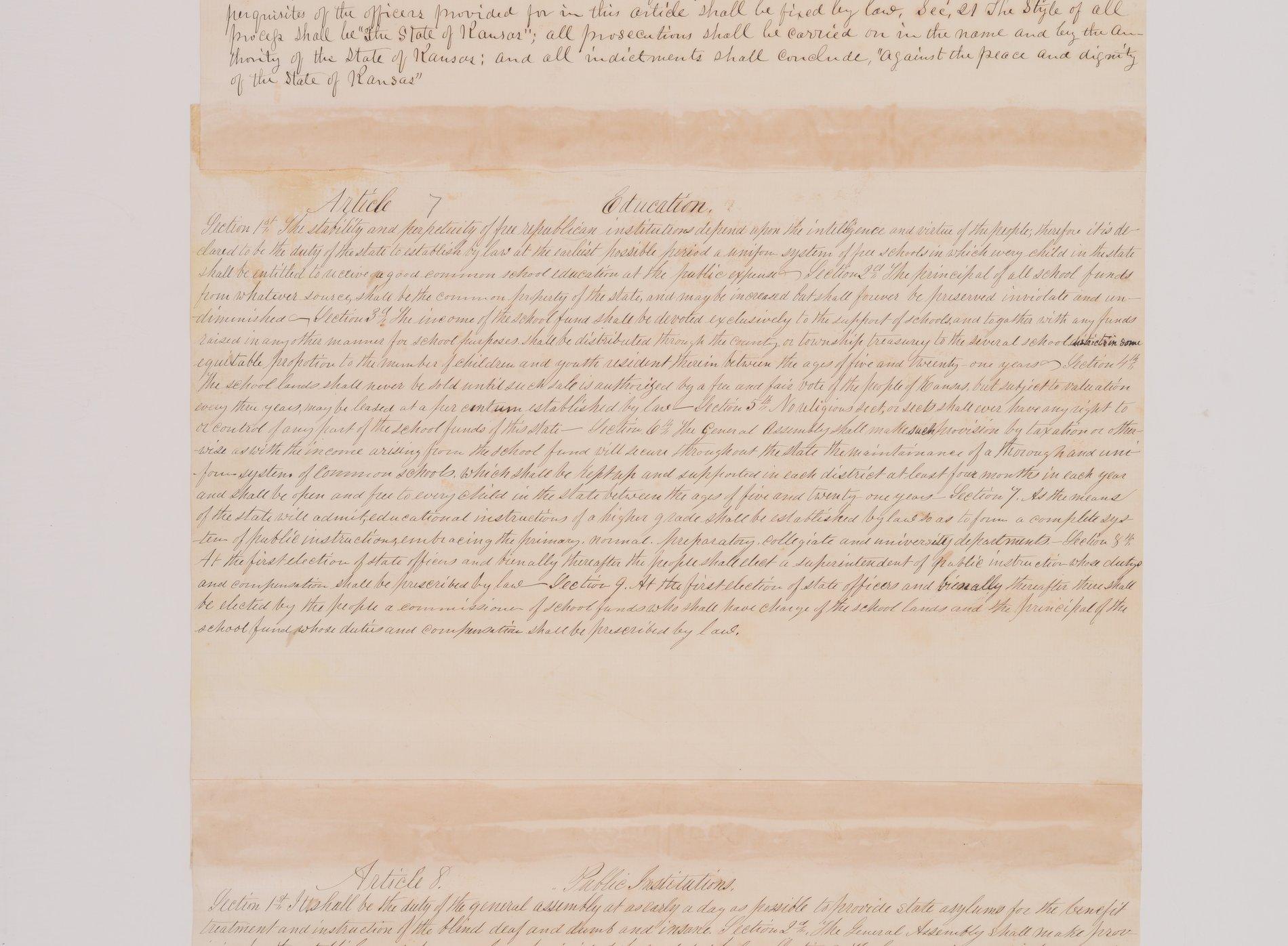Leavenworth Constitution - 7