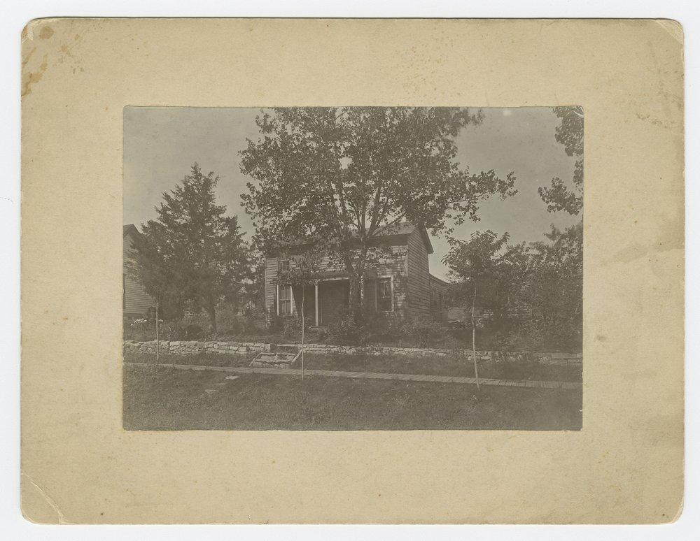 Henry J. Adams house, formerly home of Sheriff Jones, Lecompton, Kansas