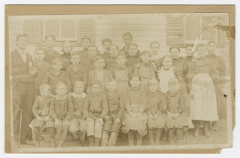 Students and teachers, Lecompton, Kansas - 2