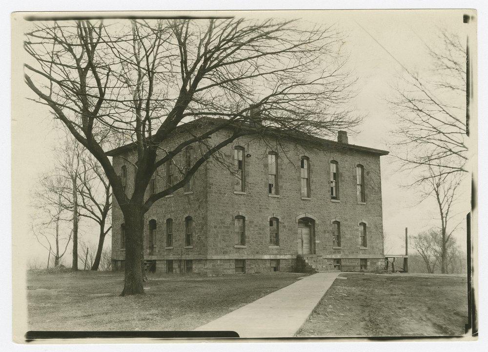 Several views of Lane University in Lecompton, Kansas - *35