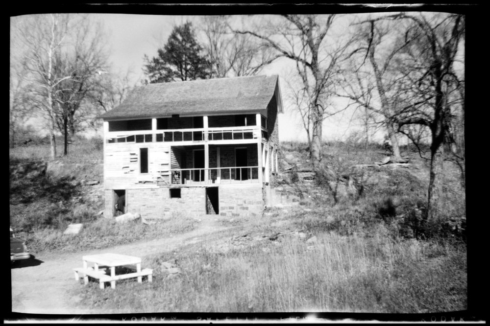 Views of the stone house on the site of John Brown's fort, Linn County, Kansas - 3