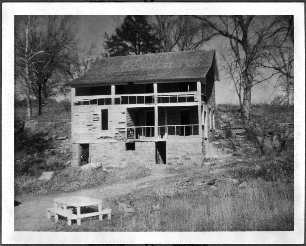 Views of the stone house on the site of John Brown's fort, Linn County, Kansas - 5