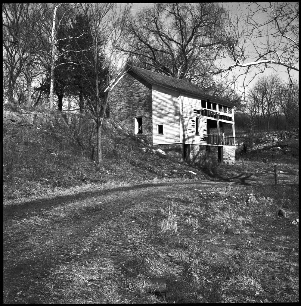 Views of the stone house on the site of John Brown's fort, Linn County, Kansas - 6