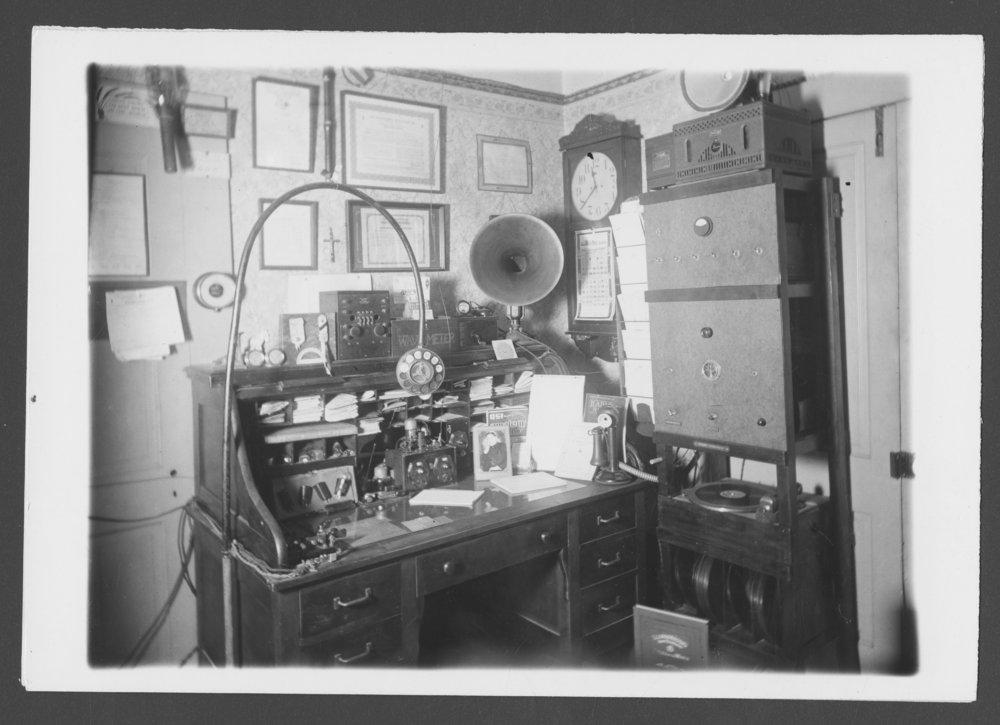 Father Fox's broacasting station, Valley Falls, Kansas - 1
