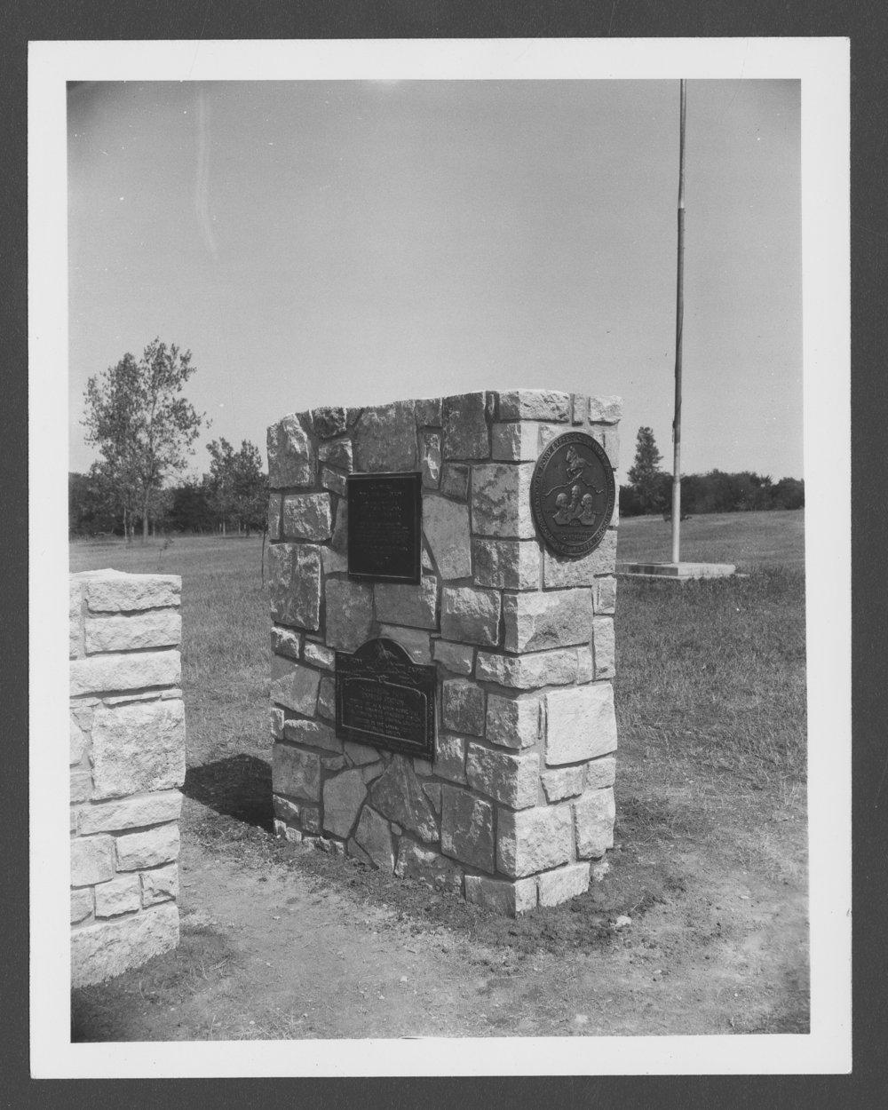 Dedication of the Pony Express monument, Washington County, Kansas - 1 [*5]