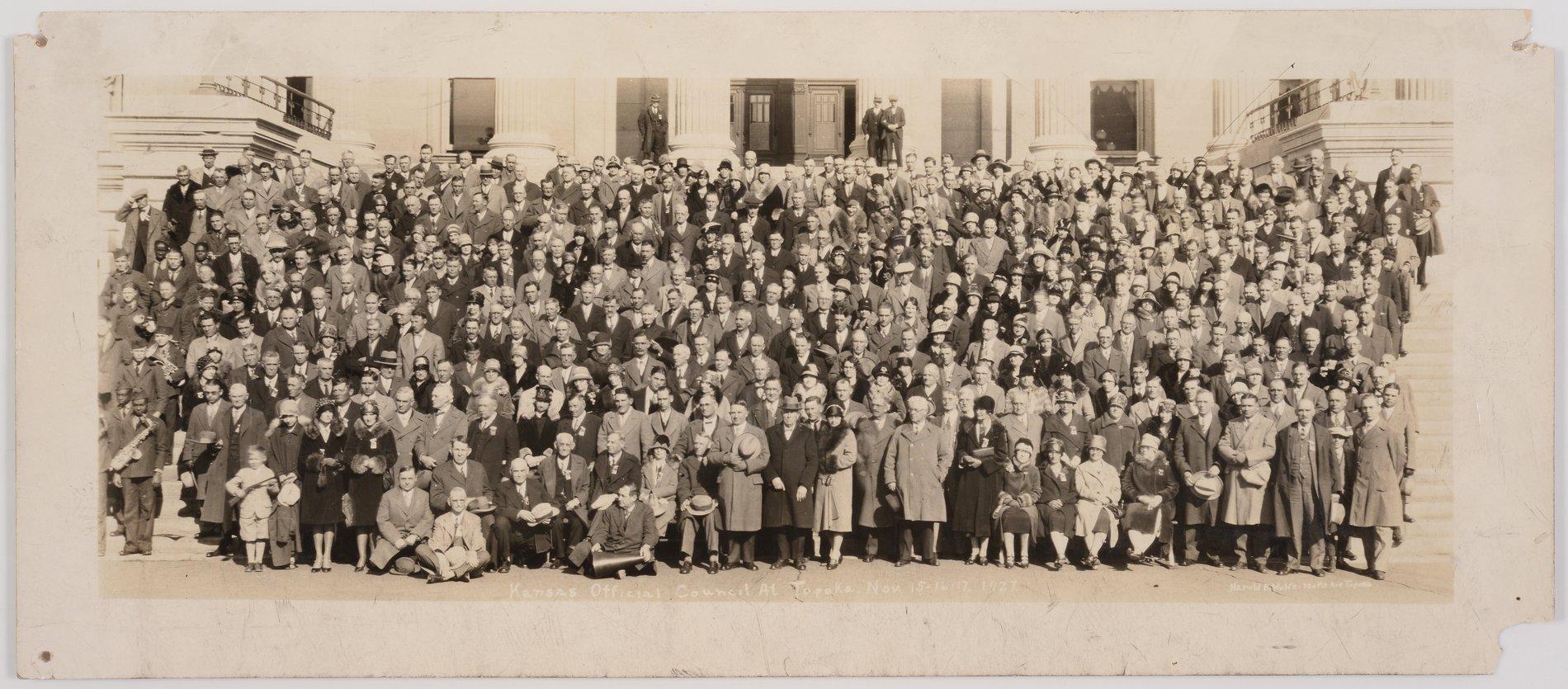 Kansas Official Council at Topeka, Kansas - 1
