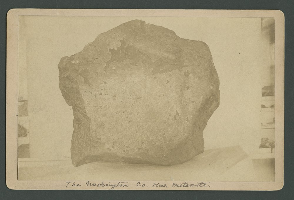 Meteor that fell in Washington County, Kansas - 1