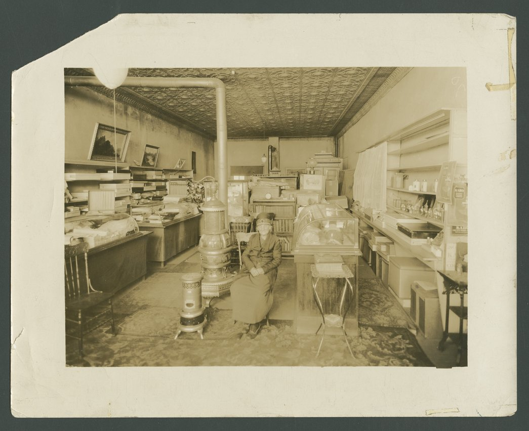 King's millinery shop, Harper, Kansas - 1