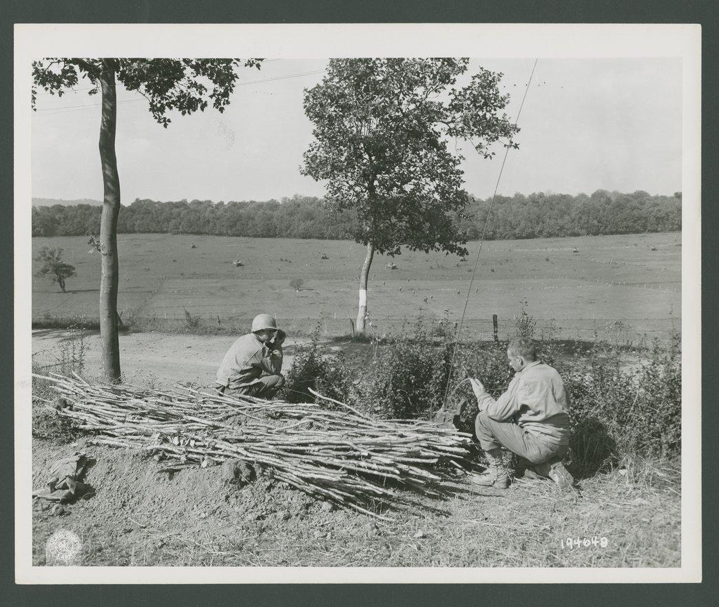 137th Intantry Regiment, 35th Division, Nancy, France - 1