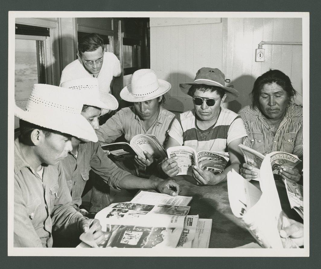 Atchison, Topeka & Santa Fe Railway Company workers - 1