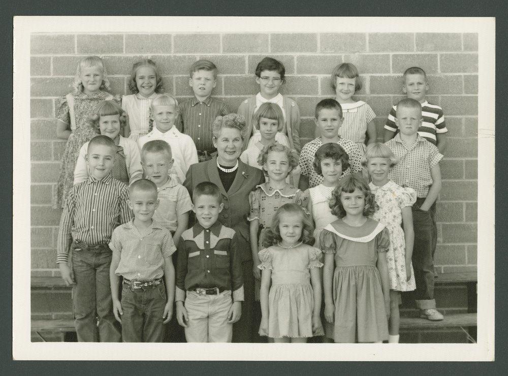 Elementary school students in Smith Center, Kansas - 7
