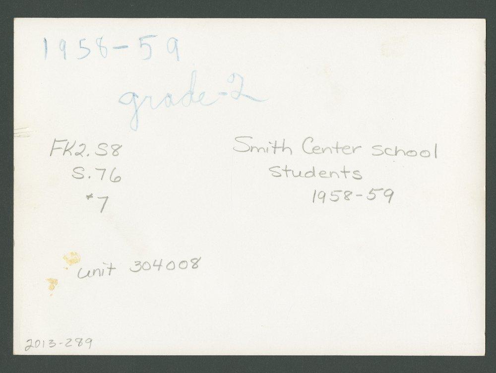 Elementary school students in Smith Center, Kansas - 8