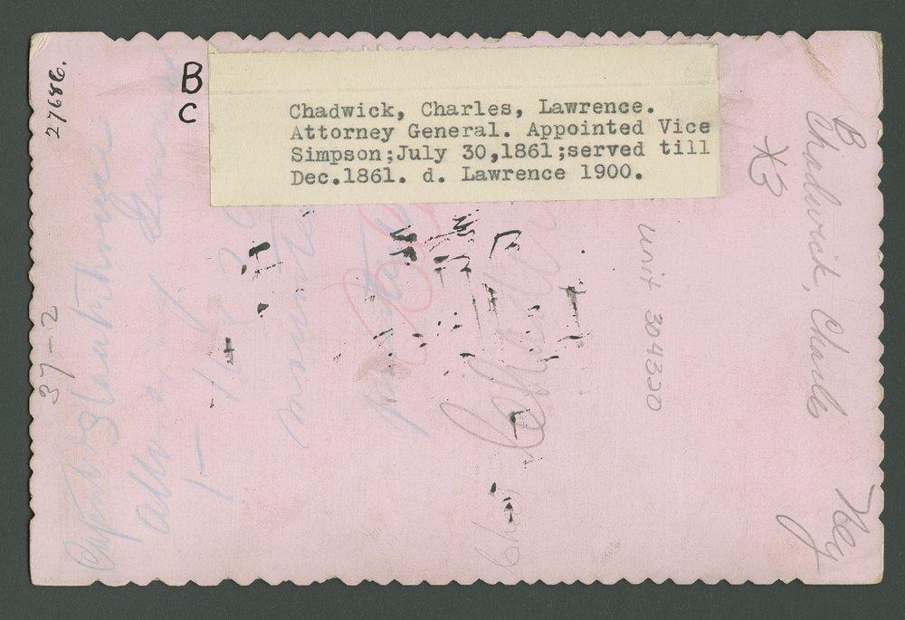 Charles Chadwick - 2