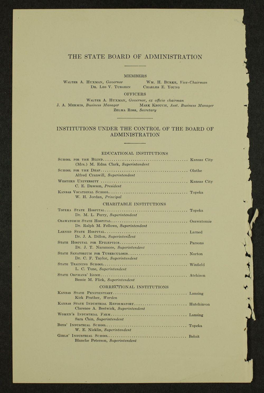 Biennial report of the Boys Industrial School, 1938 - 2