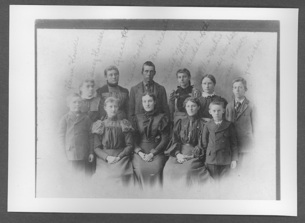 Scenes from Sherman County, Kansas - Telephone office employees.
