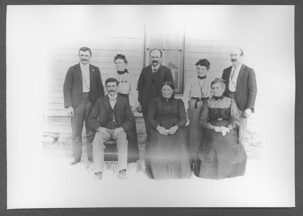 Scenes of Sherman County, Kansas - Gernhart family of Ruleton, Kansas.