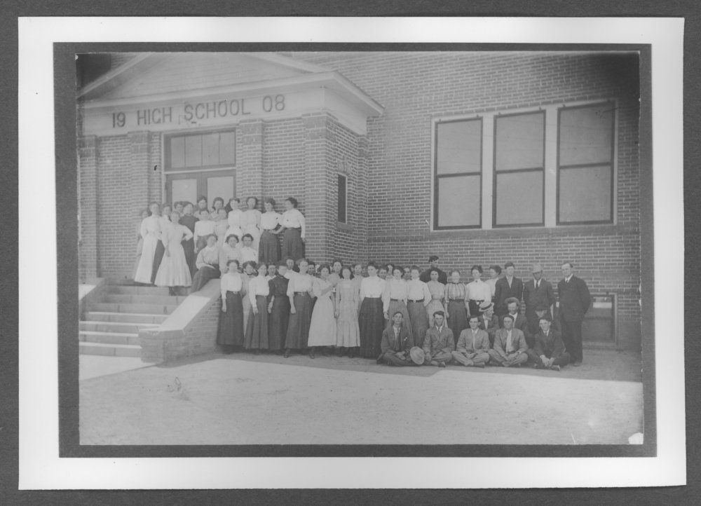 Scenes of Sherman County, Kansas - Teachers Institute in Goodland, Kansas.
